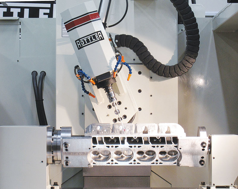 cnc cylinder porting machine for sale